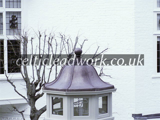 Lead turret Celtic Leadwork